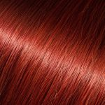 Cherry-Red Clip-ins